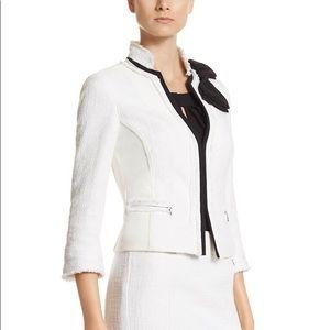 White House Black Market Fifties Tweed Jacket